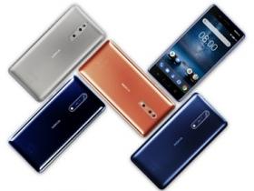 蔡司技術合作,Nokia 8 亮相
