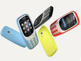 Nokia 3310 3G 版可能月中開賣