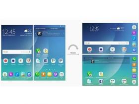三星螢幕可摺疊裝置介面專利曝光
