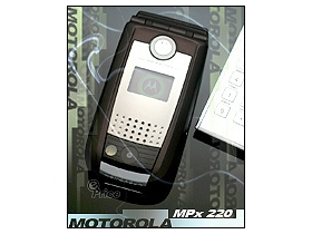 Motorola 智慧型手機 MPx220 掀起微軟風暴!