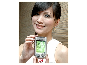 PDA 手機 ETEN M500 拇指操控、聲控很人性