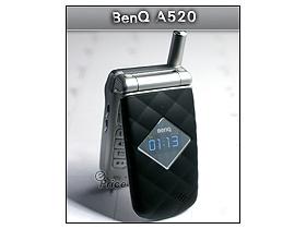 BenQ A520 菱形格紋造型 搶先秀給你看