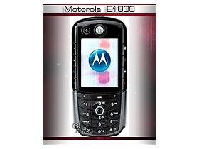 未來 3G 新鮮貨 MOTO 開創先鋒 E1000