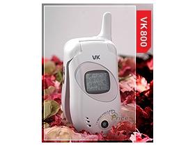 春夏新話題 VK 800 引領手機白色新潮流