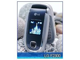 有腰身的 LG F2300 給你奈米級保護
