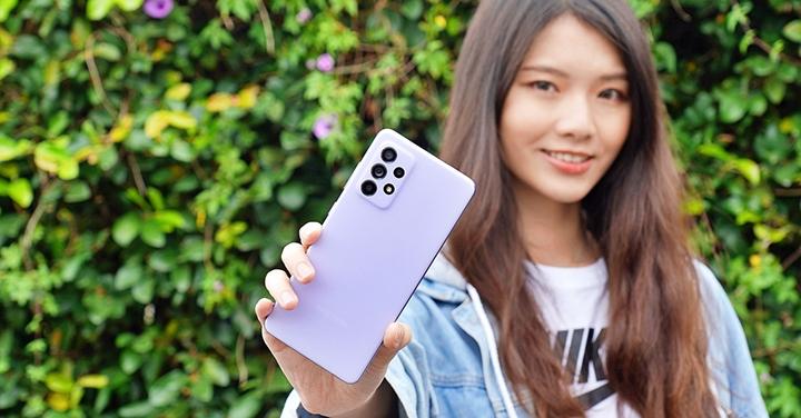 怪好玩防水豆豆機:Galaxy A52 5G