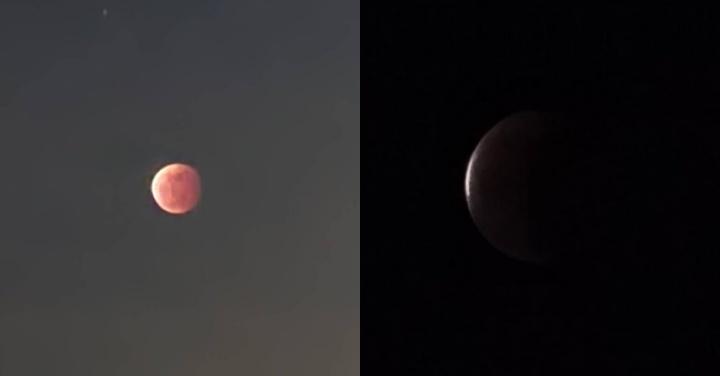 S21U 實拍月全蝕 就是這麼簡單