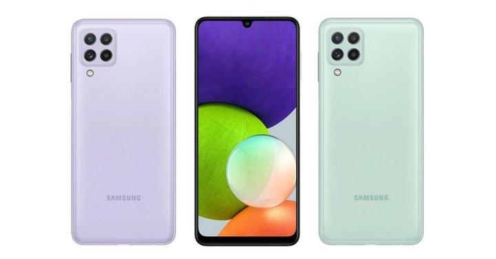 三星最廉價 5G 手機:A22 5G 發表