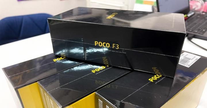 POCO F3 水冷遊戲手機 直降千元