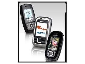 百萬滑蓋 Siemens、Nokia、LG 三強大對決