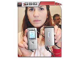 【3GSM大會】Sharp 大眾入門機 螢幕一貫犀利