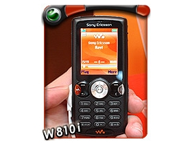 Walkman 第四號成員!索愛 W810i 黑得發亮