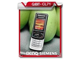 【 CeBIT 展】BenQ-Siemens CL71 滑出沉穩