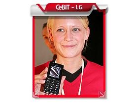 【 CeBIT 展】超薄生力軍 LG  黑色餅乾 KG320