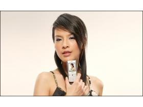超女代言 Amoi M636 魅力上市