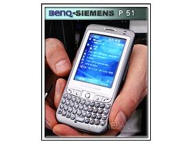 雙網 + GPS BenQ-Siemens P51 錦上添花