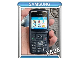 6.9 mm! Samsung X828 世界第一薄!