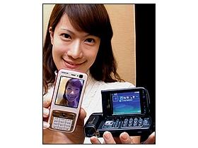 強攻數位影像 諾基亞 N93 、N73、N72 三機齊發