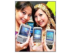 HP  一炮三響 hw6965、優手機搶佔市場
