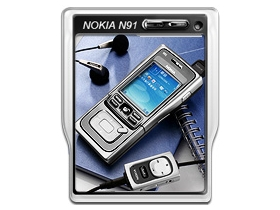 音樂悍將 Nokia N91 出馬 MP3 隨身聽靠邊站