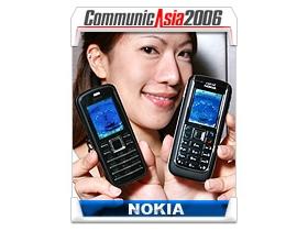 【亞洲電信展】Nokia 6151、6080  平價務實風