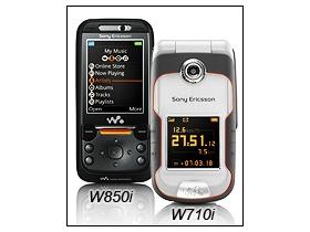 新功能加持 索愛 W850i、W710i 現活力