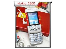 滑蓋音樂機宣戰 Nokia 5300 力抗 SE W850i