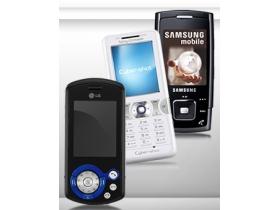 200 萬相機 + MP3  10 款全能手機輕鬆買