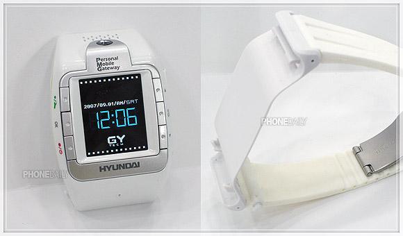 特務偷拍王! 第三代手錶手機 Hyundai W100