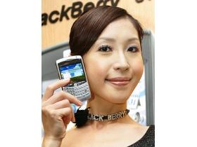 BlackBerry 8300 Curve 拍照聽歌、有模有樣