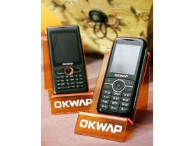 OKWAP  新貨到 C110 雙號通、A136 二面玩音樂