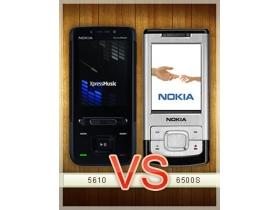 音樂、拍照大不同 Nokia 5610 vs. 6500 Slide