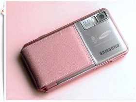 Samsung F488 Pink 草莓系美人巧指機