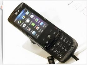 【MWC 2009】LG 高階 S60 智慧機 KT770