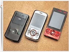 【MWC 2009】SE W705 + W508 + W395