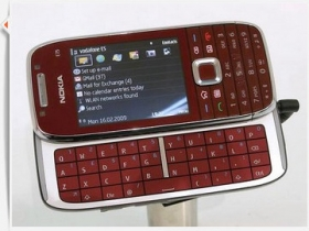 【MWC 2009】Nokia E75、E55 商務雙強