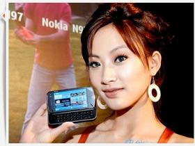 N 系觸控旗艦 Nokia N97 六月中上市
