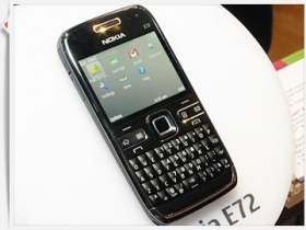 【CMMA 2009】Nokia E72 超薄電郵機