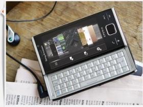 Sony Ericsson X2 發表:WM 6.5、第四季上市