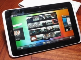 HTC Flyer 港版搶先測試!台灣 5/10 也會跟進