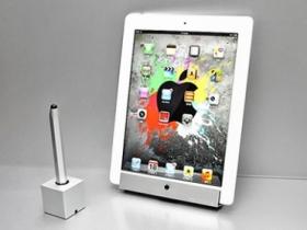 【贈獎】Just Mobile iPad 金屬壁掛架、觸控筆