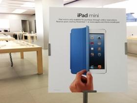 iPad mini 全球 34 國開賣,炒作不如以往