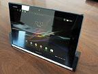 Xperia Tablet Z 帥氣實機照,還有專用底座