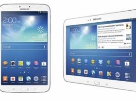 三星發表 8 吋、10 吋 Galaxy Tab 3 平板新品