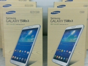 三星 Tab 3 8.0 3G/WiFi 雙版本到貨,10,900 元起