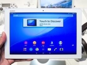 Sony Z4 Tablet 售價搶先報!