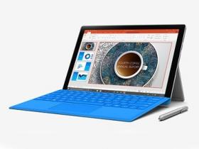 效能再提升, Surface Pro 4 發表