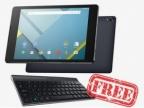Nexus 9 出清送鍵盤 七千五有找