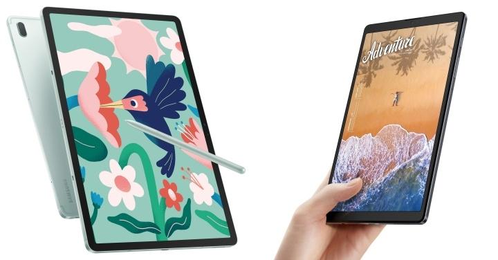 S7 FE 5G、A7 Lite 雙平板上市